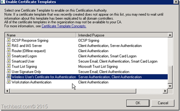 Setup radius server 2008 r2 for wirelesswpawpa2 enterprise techbast now request a new certificate with the last certificate template and include a symmetric algorithm for information gatheringclient to server yelopaper Image collections