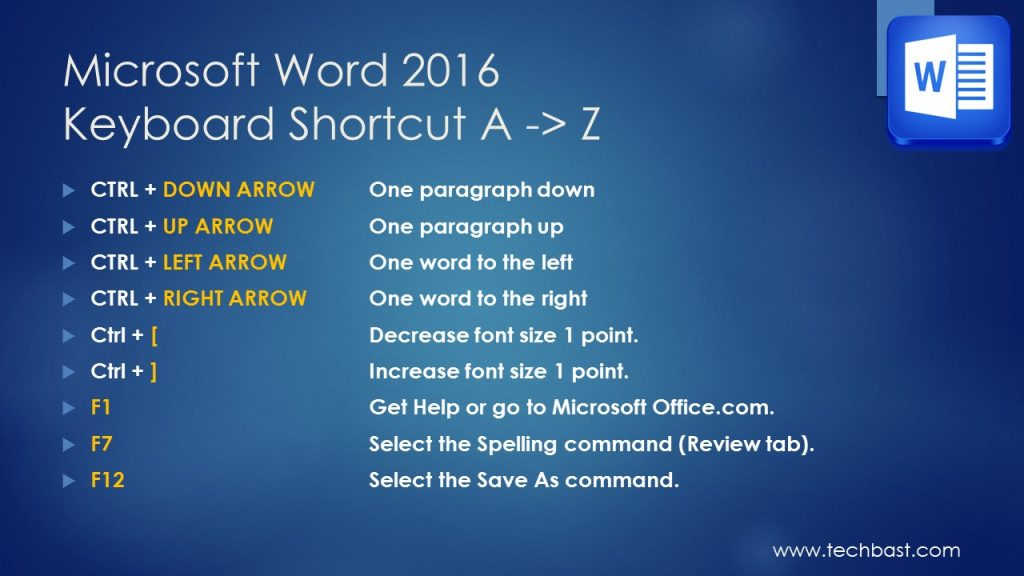 MS-word-2016-keyboard-shortcuts (6)