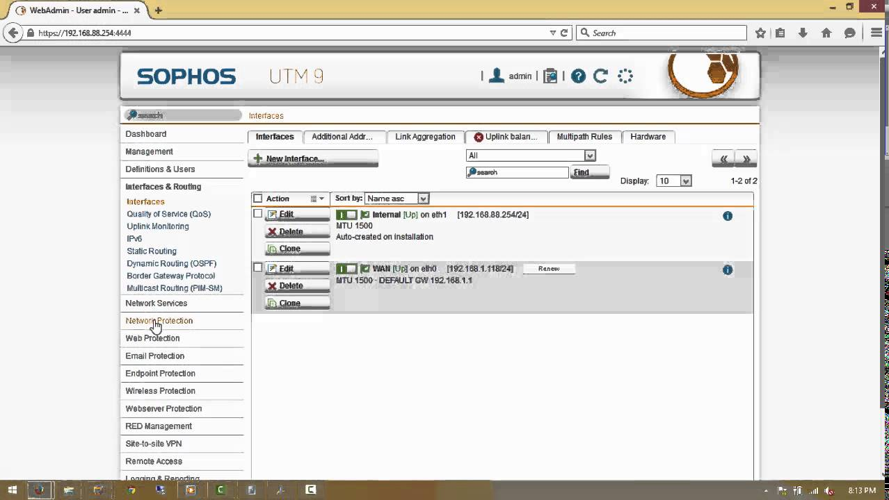 Perform A Basic Configuration Sophos Utm In 12 Simple