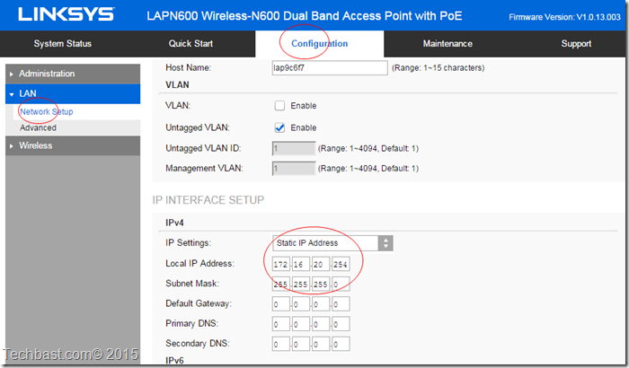 LAPN600 Wireless-N600 Dual Band Access Point with PoE