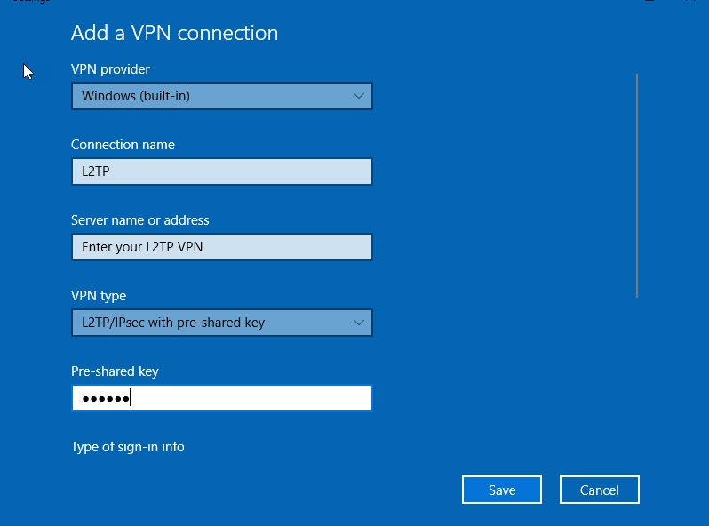Sophos XG Firewall: How to configure an L2TP connection for