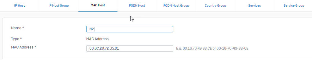Sophos XG Firewall: How to block internet access based on