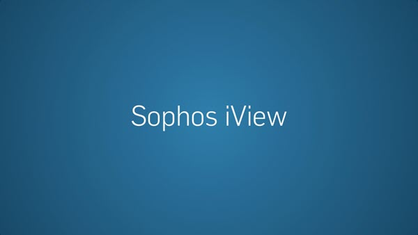 Sophos iView: How to install iView and integrate with Sophos