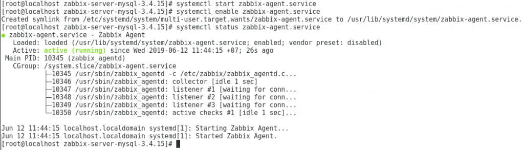 Zabbix: How to configure Zabbix Server on CentOS 7 – Techbast