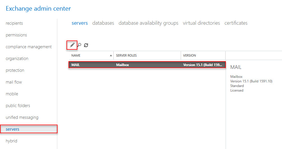 How to implement exchange 2016 on windows server 2016 Part 4